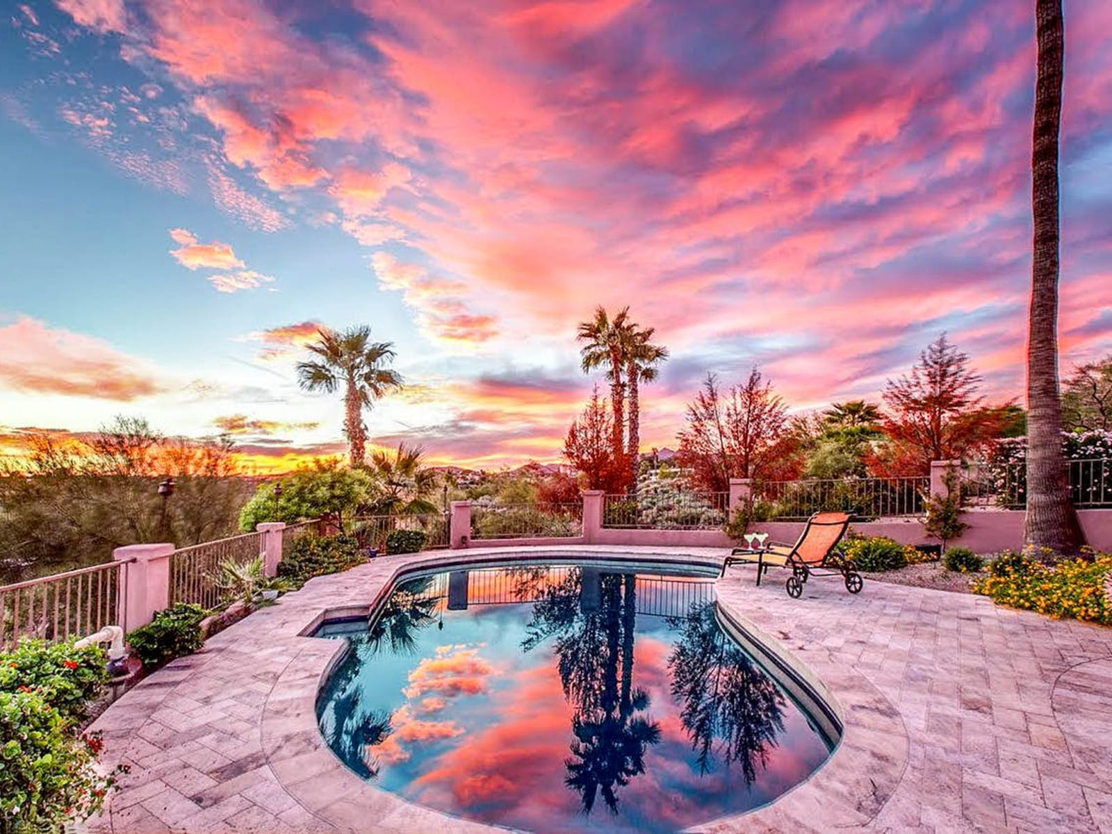 outdoor pool in Fountain Hills, AZ