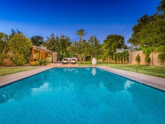 Outdoor pool in Phoenix, AZ