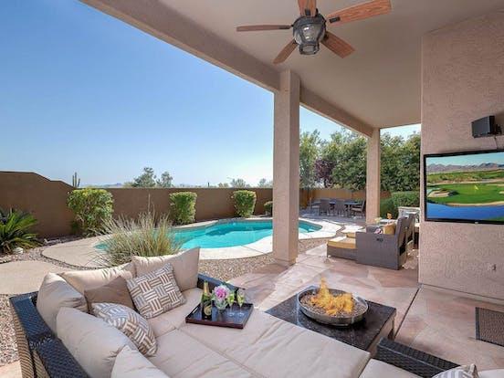 Arizona snowbird pet-friendly rental