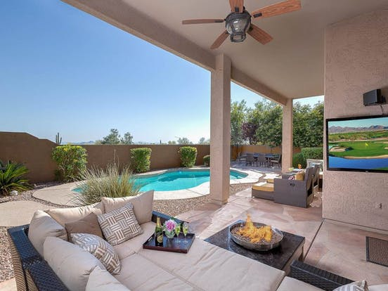 Arizona snowbird pet-friendly rental