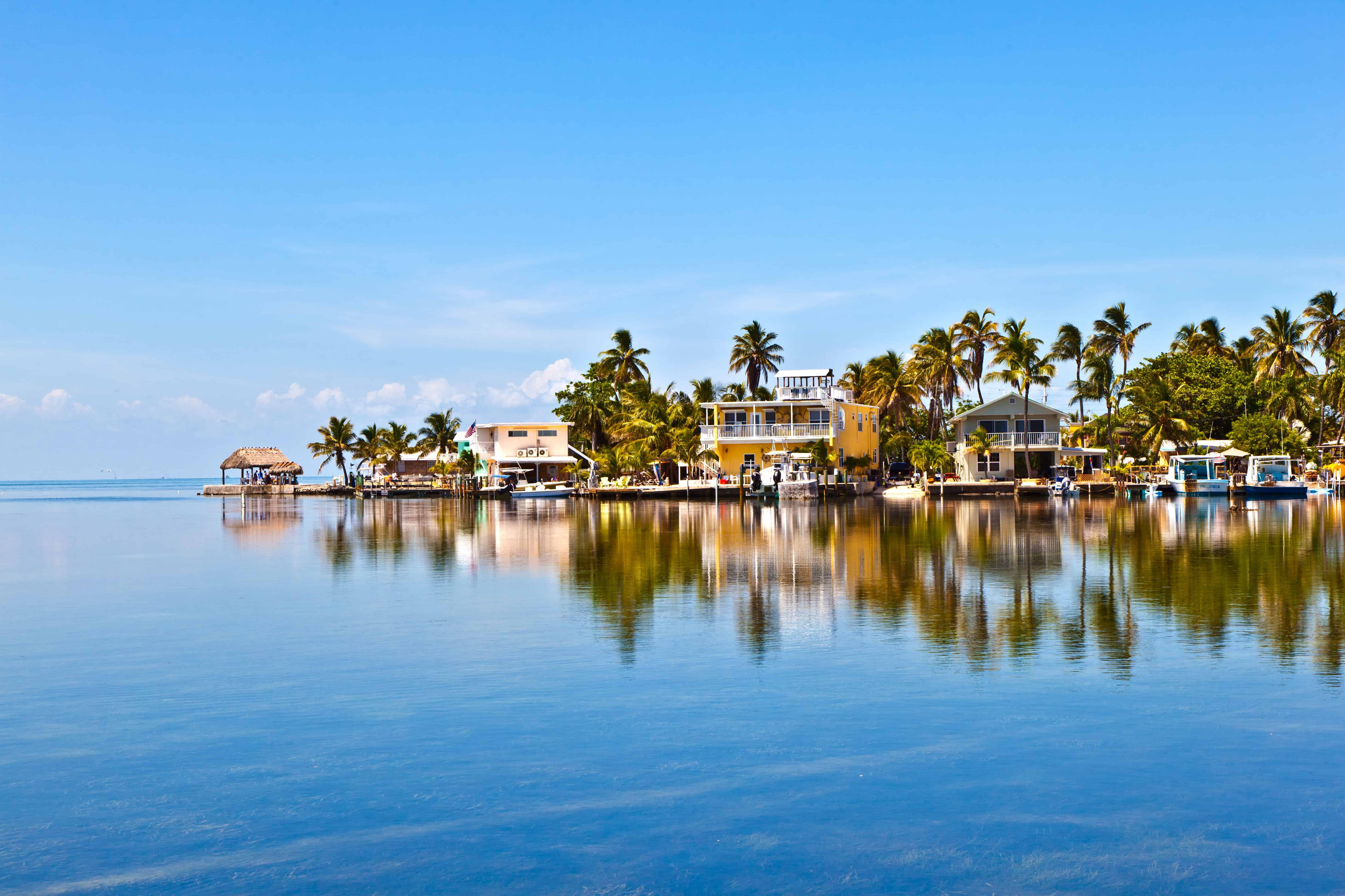 waterfront vacation homes in Key West, FL