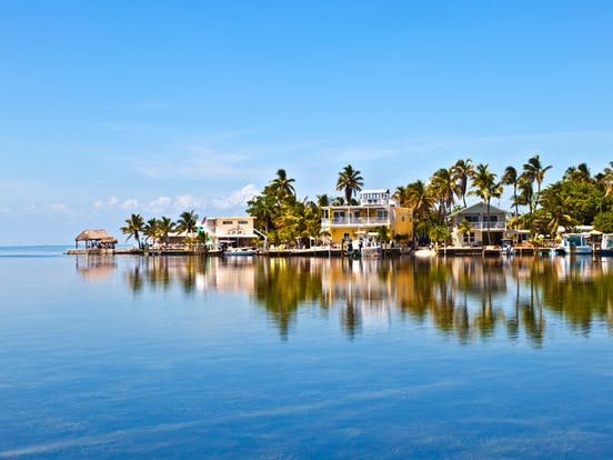 Vacation homes on the water in Key West, FL