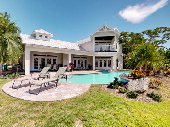 Anna Maria Island vacation home with outdoor private pool