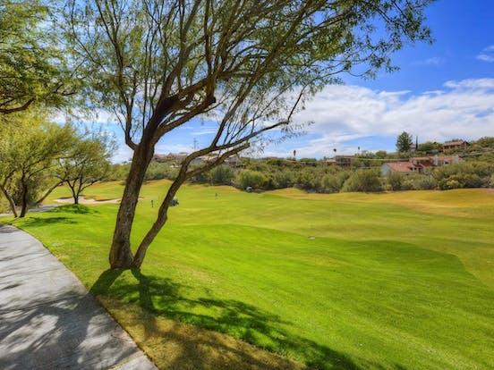 Golf course in Tuscon, AZ