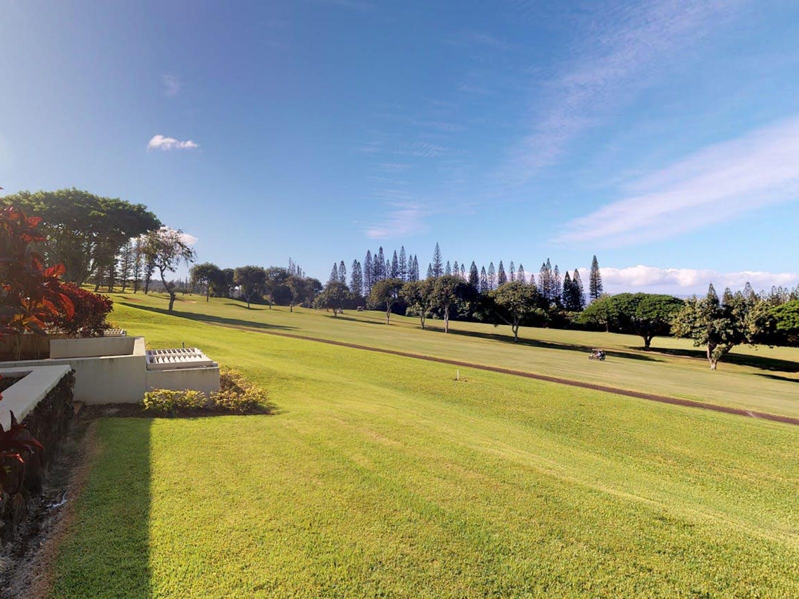 Lahaina Kapalua golf course