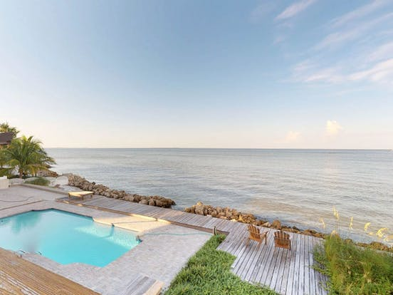 Oceanfront vacation rental with pool in Anna Maria, FL