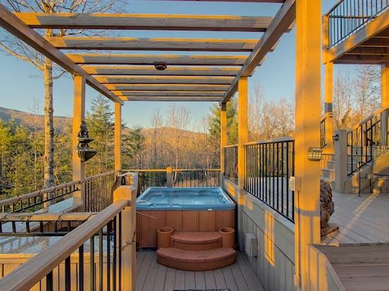 helen, ga cabin rental with hot tub