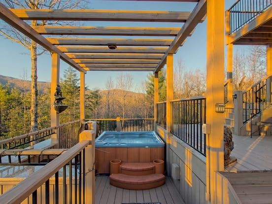 helen, ga cabin rental with hot tub