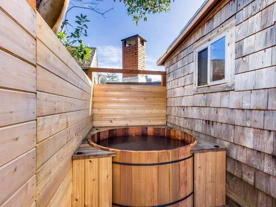 private cedar hot tub of neskowin vacation rental