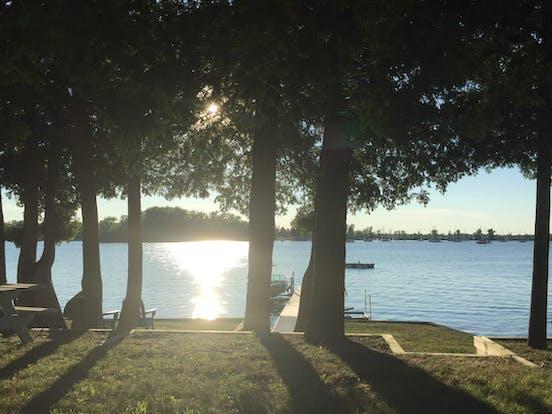 lake in North Hero, VT