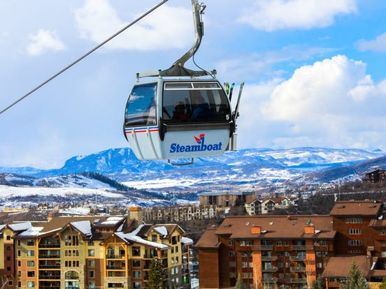 Steamboat Springs ski lift