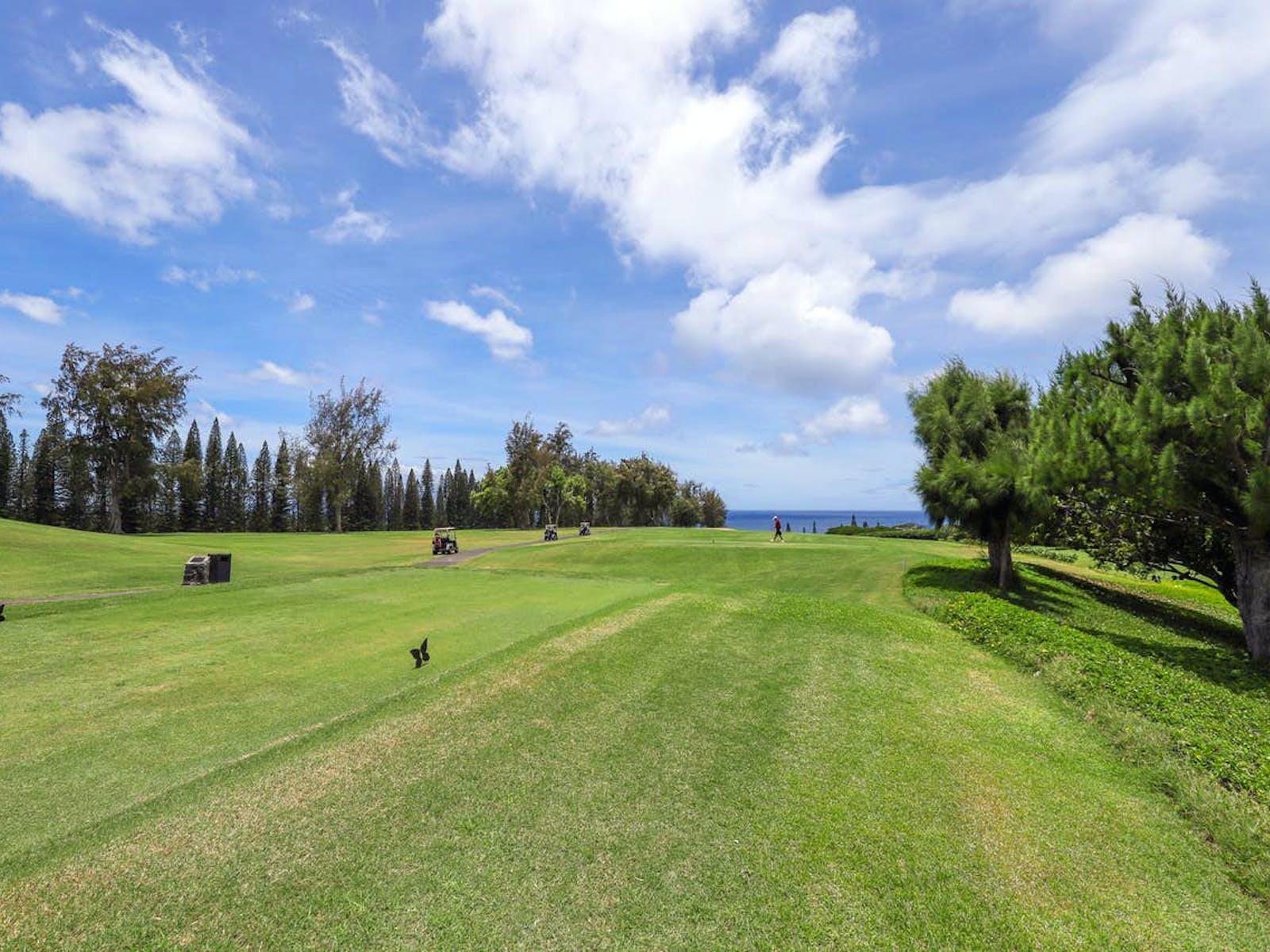 Lahaina, HI Kapalua golf course