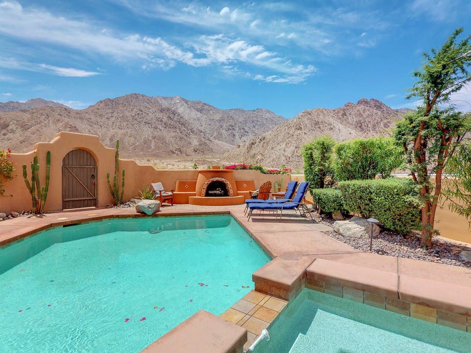 Outdoor pool located in Indio, CA