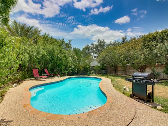 San Antonio vacation home with outdoor pool and grill