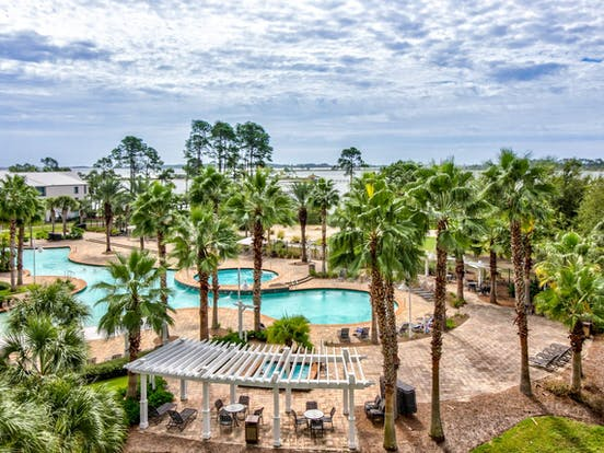 Panama City Beach resort pools