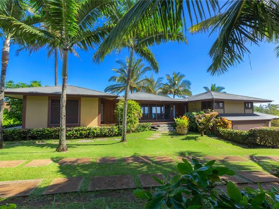 a vacation rental in princeville