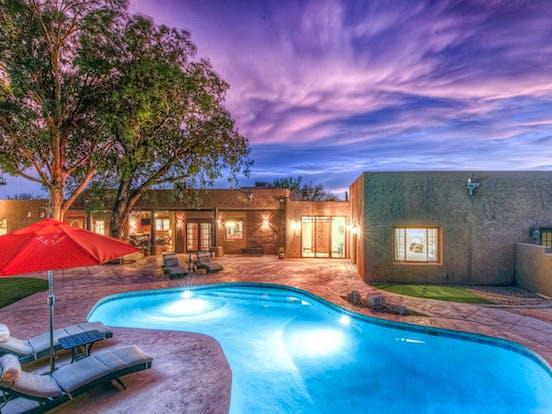 outdoor pool in Tucson, AZ