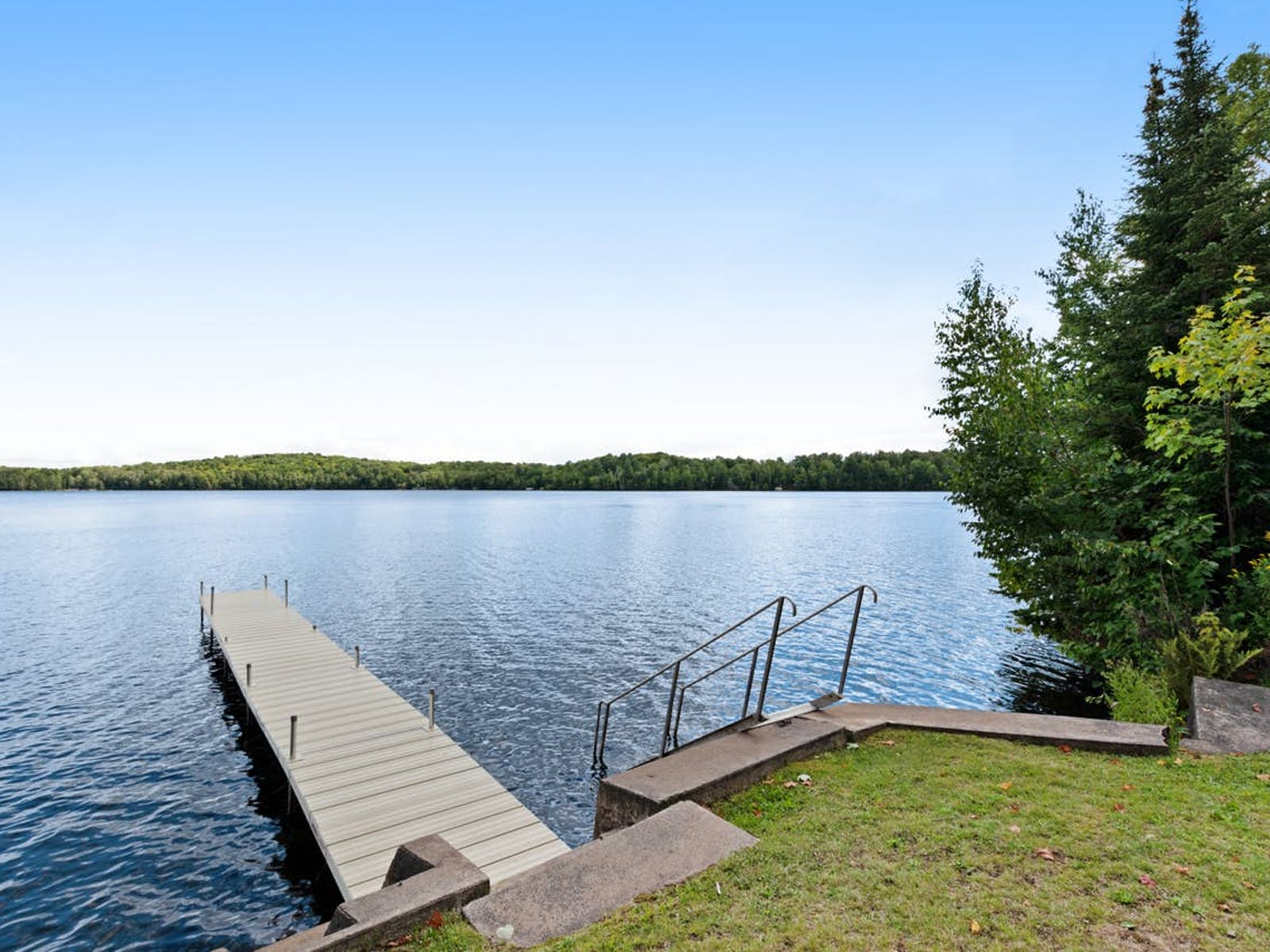 dock of Presque Isle, WI vacation rental