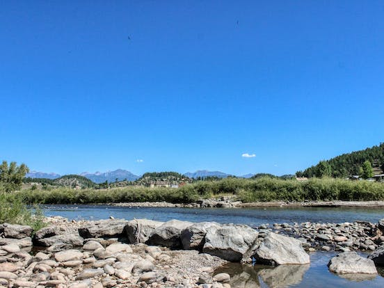 River in Pagosa Springs, CO