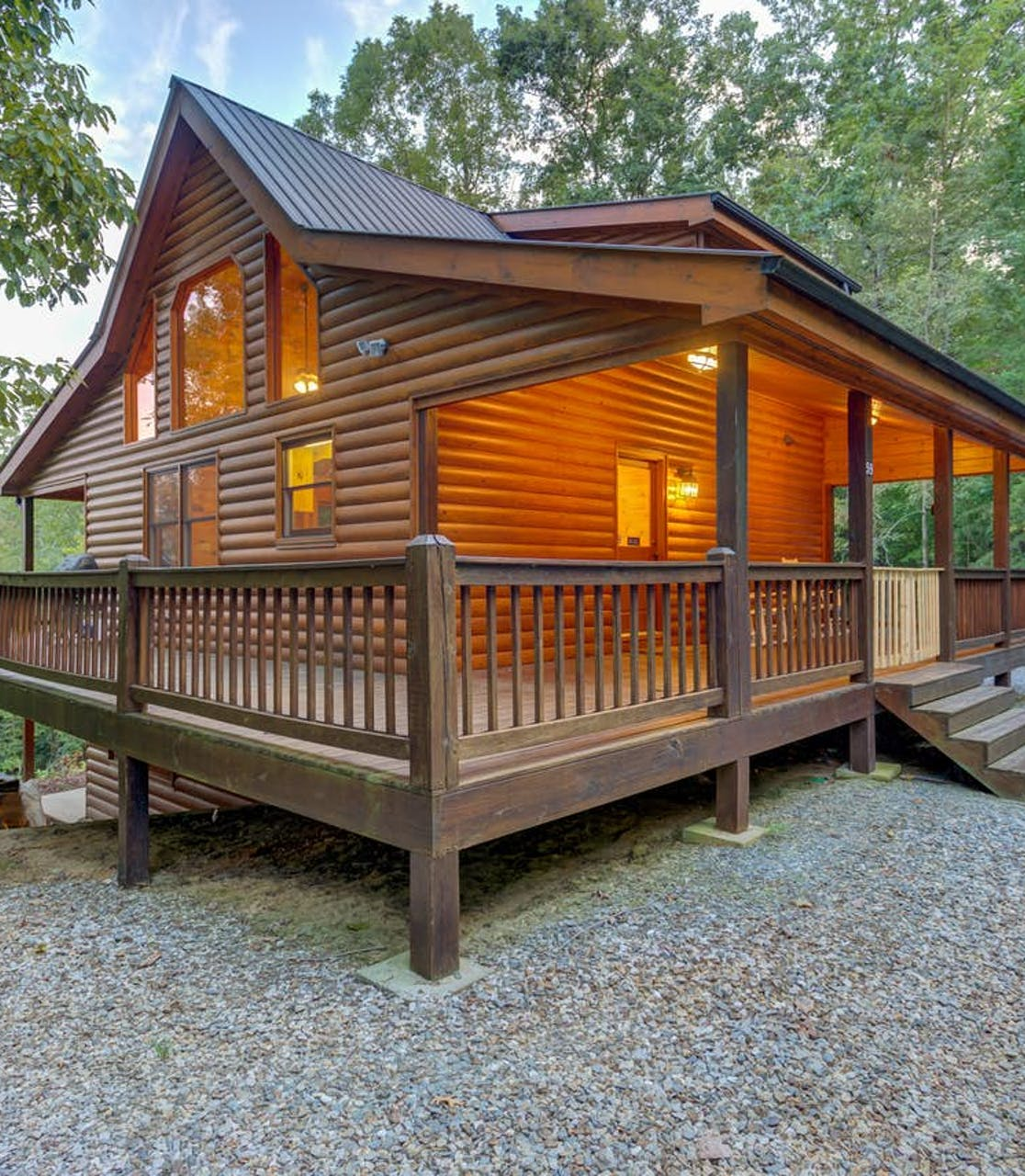 vacation cabin rental in blue ridge, ga
