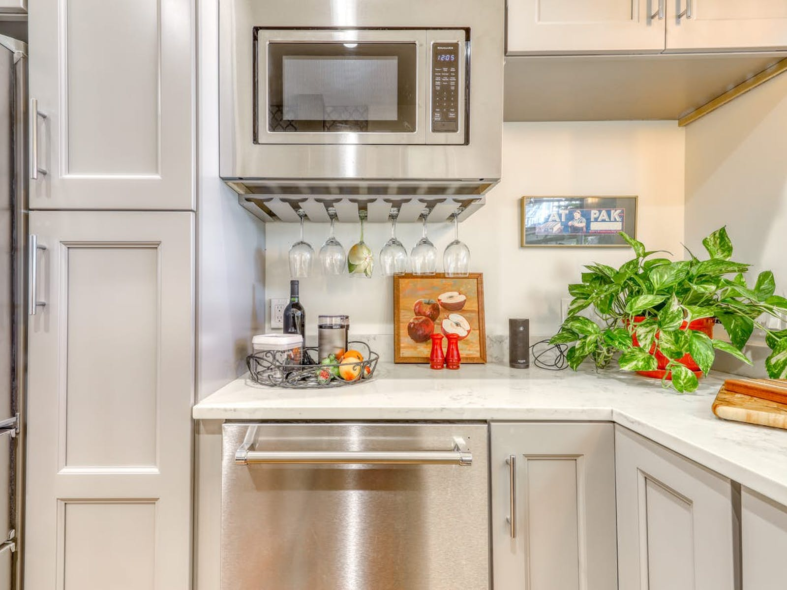 kitchen of vacation rental located in Portland, ME