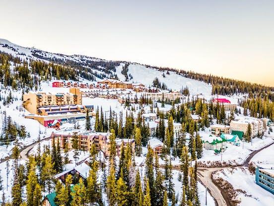 Big White, BC skiing