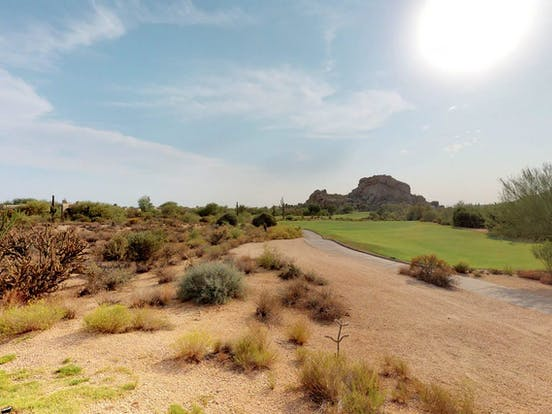 Golf course in Scottsdale, AZ