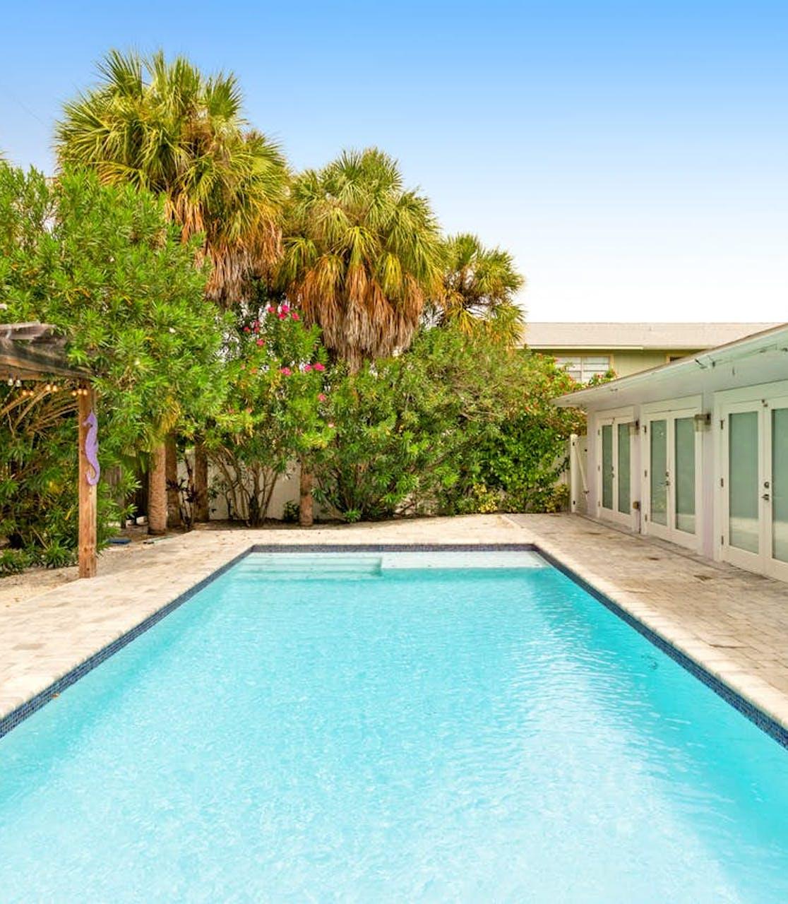pool of Anna Maria, FL vacation rental
