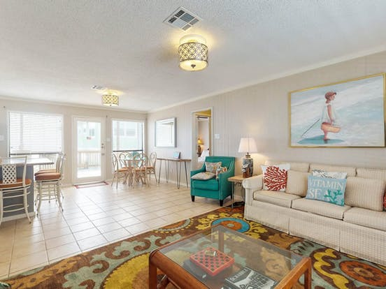 adorable beach rental in galveston, tx