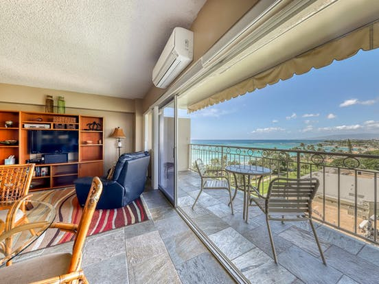 Oahu, Hawaii vacation condo with ocean views
