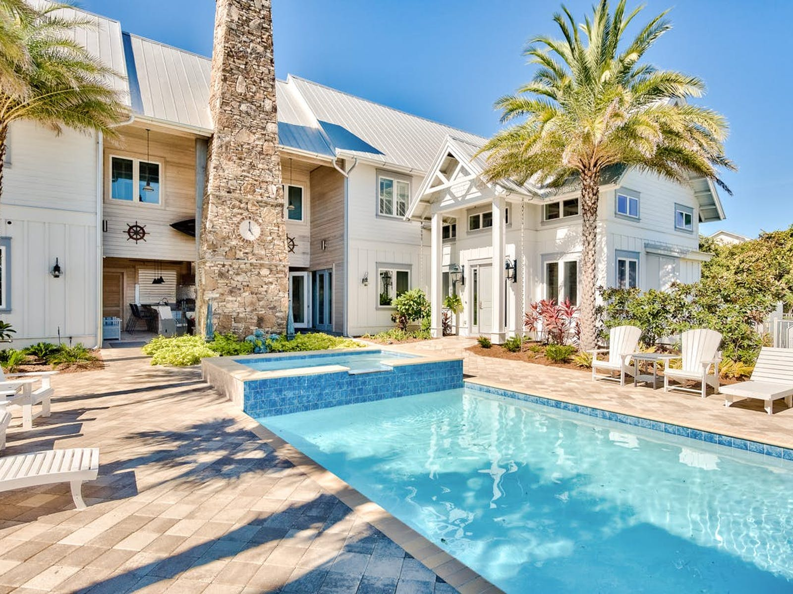 Miramar Beach, FL vacation rental with a large outdoor pool