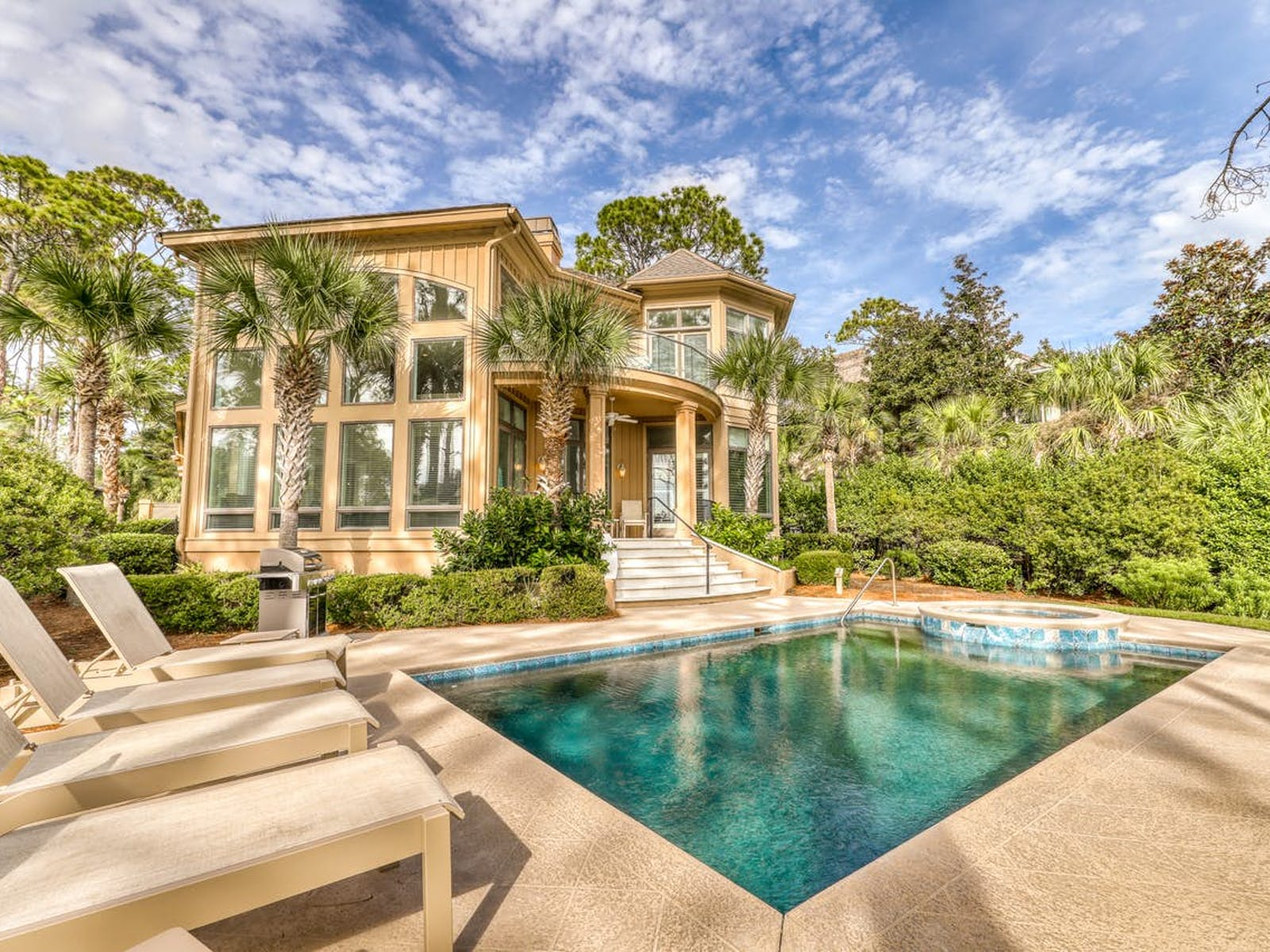 oceanfront Hilton Head vacation home with private pool