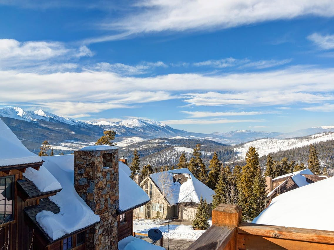 Breckenridge winter vacation rental