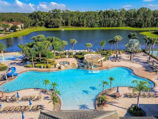 resort pool located in florida
