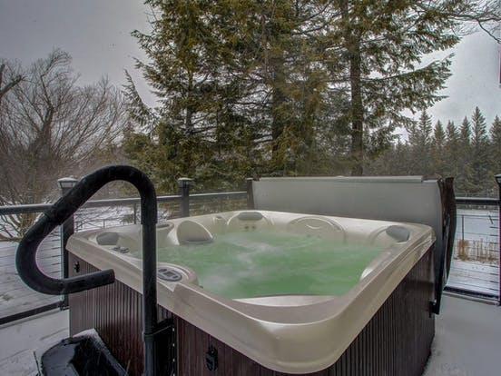 hot tub of Stratton, VT vacation condo