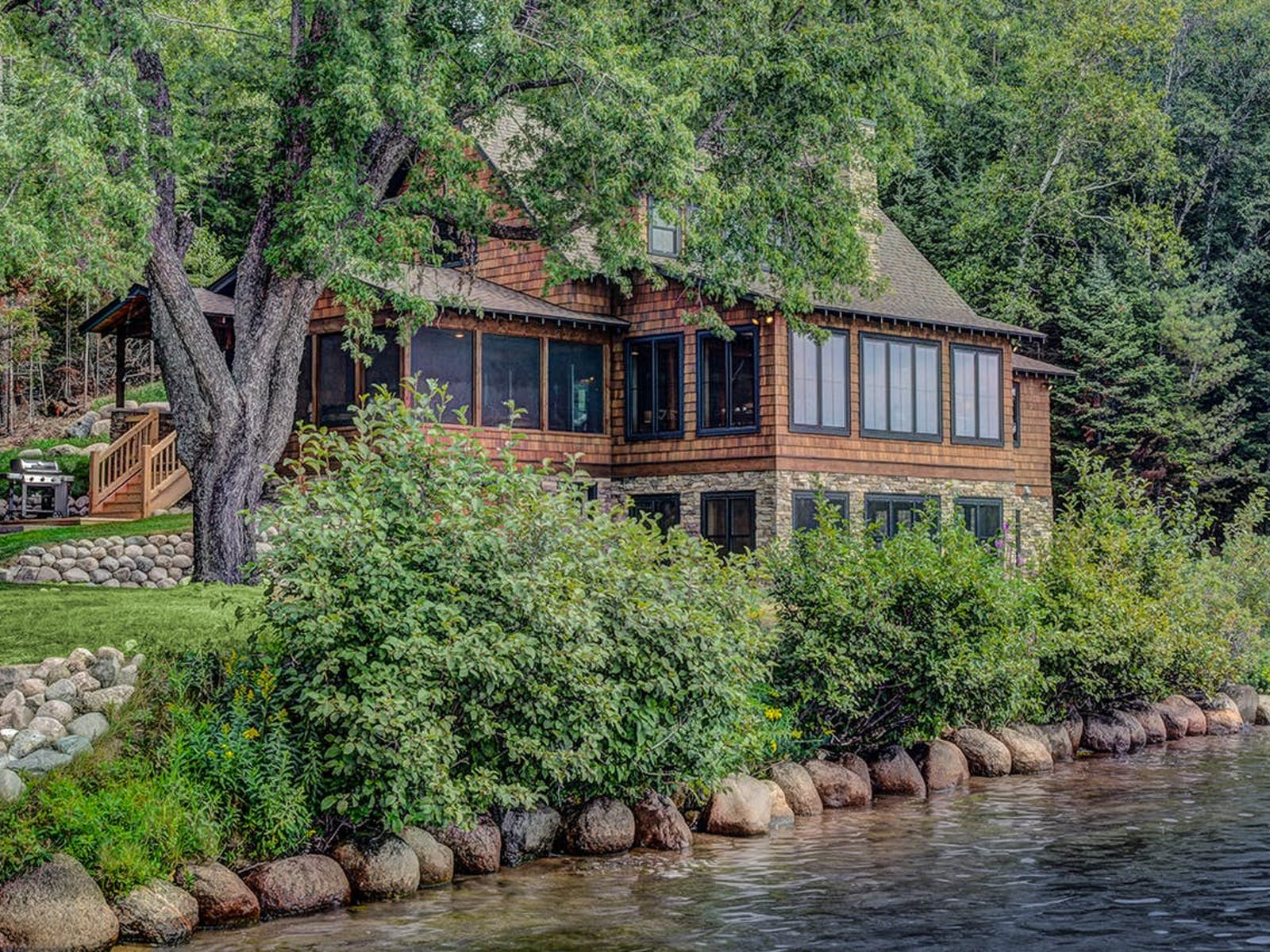 cabin on the water in Sayner, WI