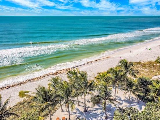 Longboat Key, FL coastline
