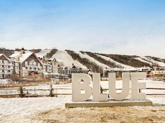 The Blue Mountains, ON skiing