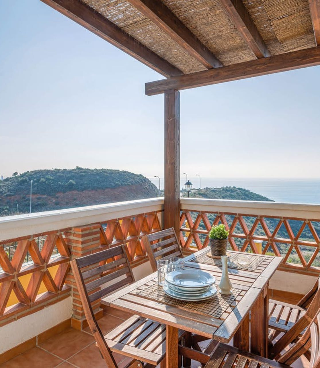 Andalusia vacation rental with amazing view from patio