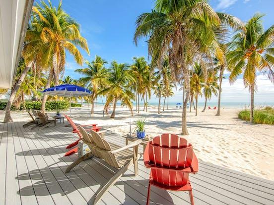 beachfront vacation rental in Islamorada, FL