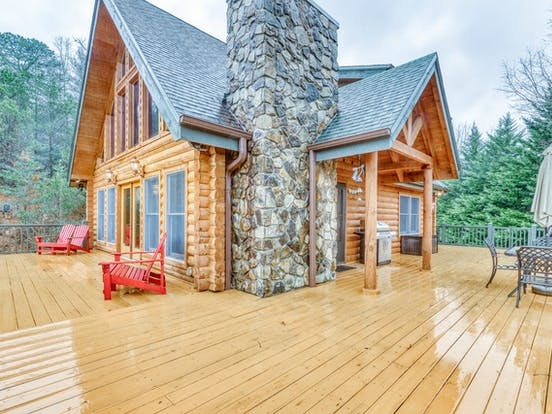 Cabin rental in North Carolina