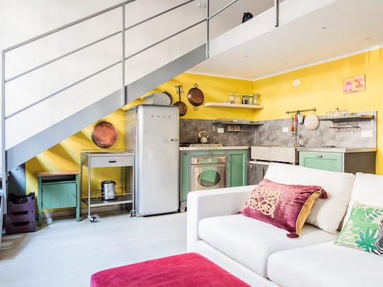 Interior of Milan vacation rental