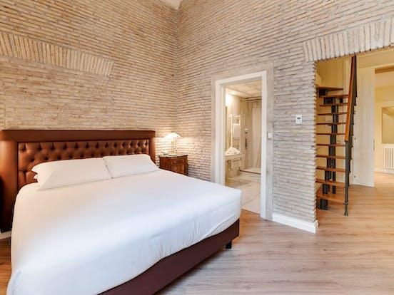 Vacation rental bedroom in Rome