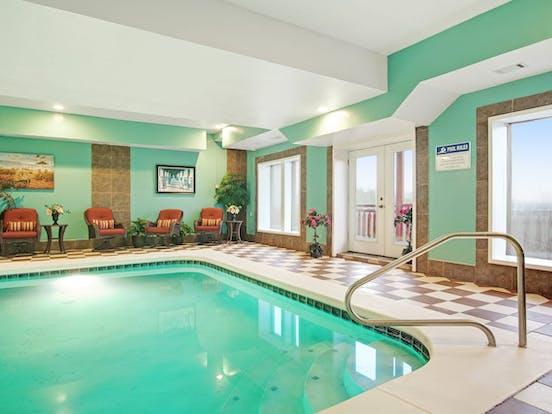 Indoor pool in Sevierville vacation rental