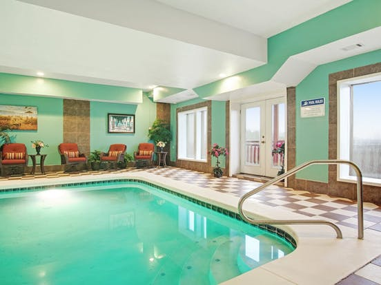 Indoor pool in Sevierville vacation rental