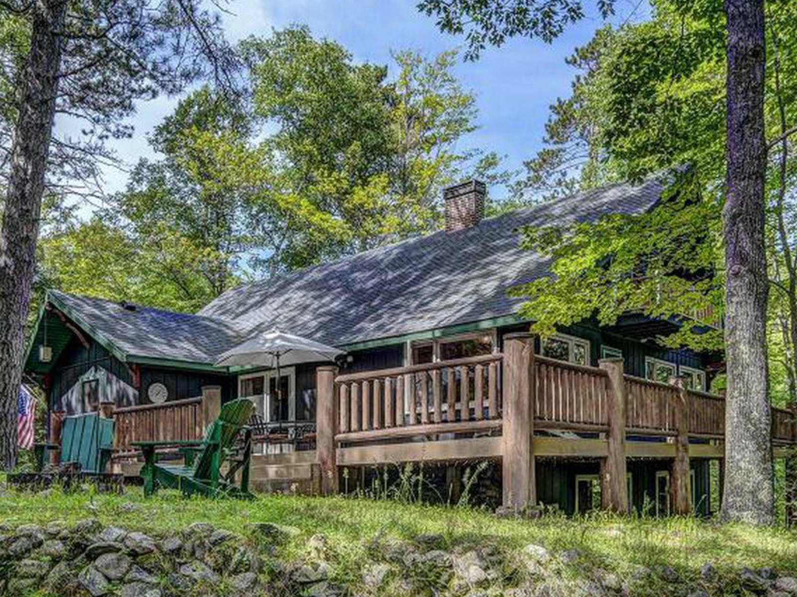 Vacation rental cabin in Eagle River, WI