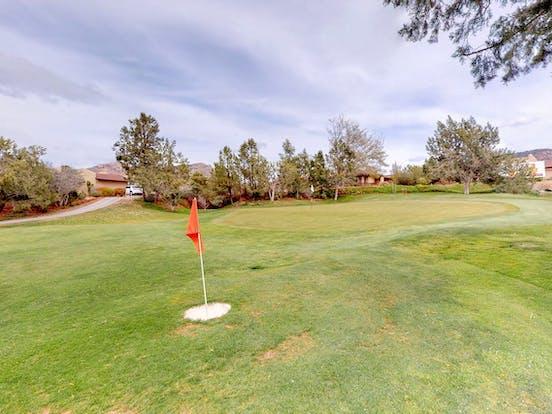 Golf course in Sedona, AZ