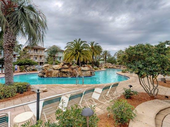 Resort pool located in Destin, FL
