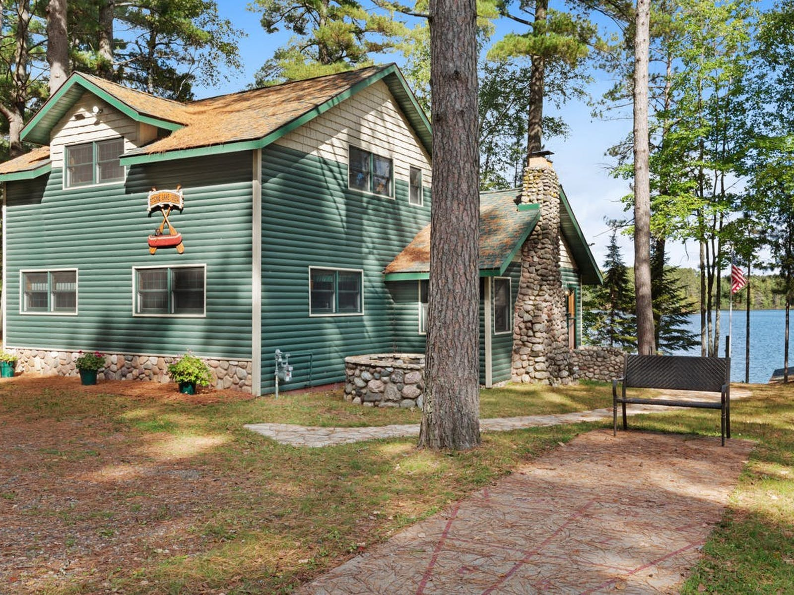 waterfront vacation rental in Manitowish Waters, WI