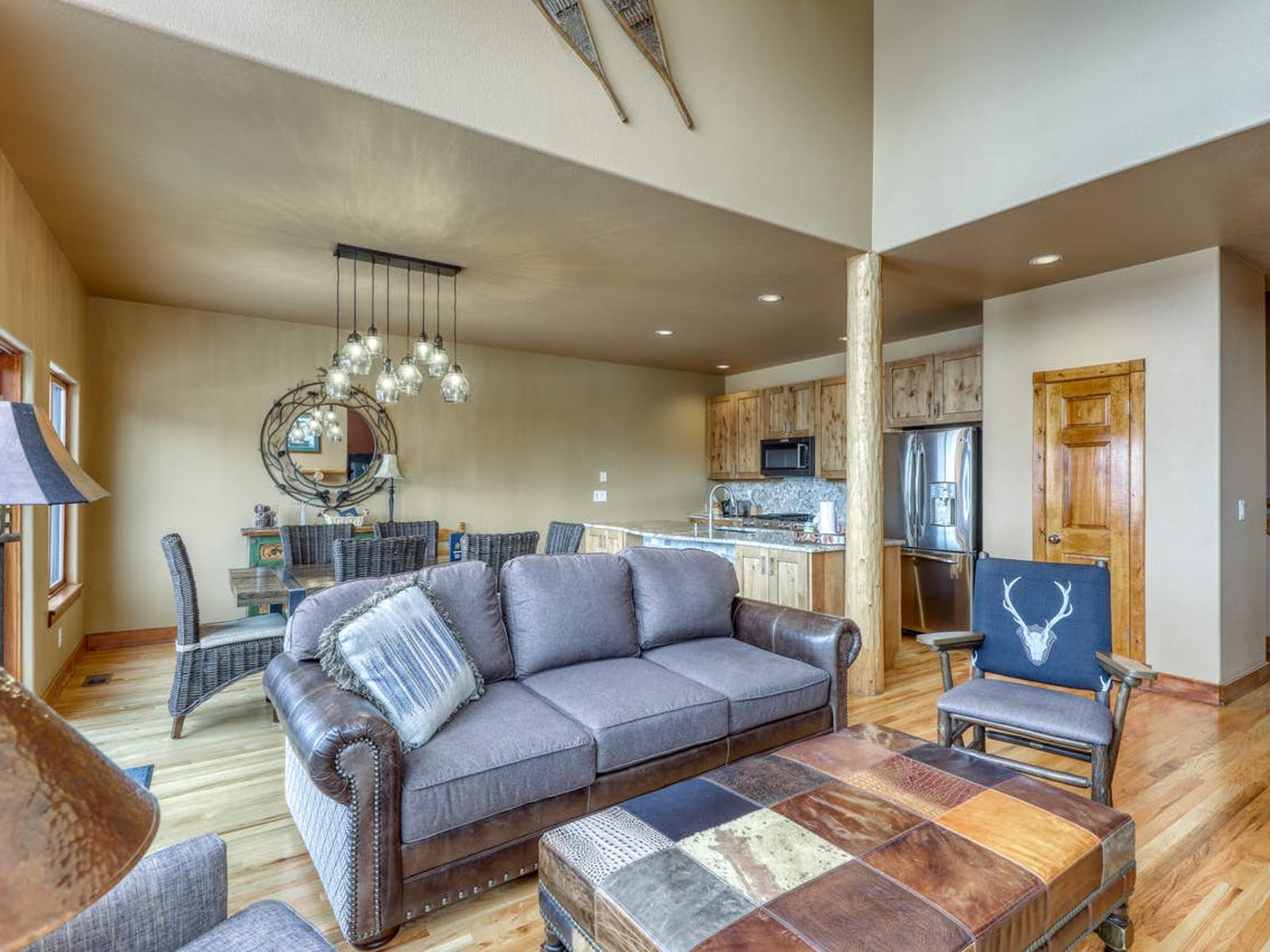 living area of vacation rental in Frisco, CO